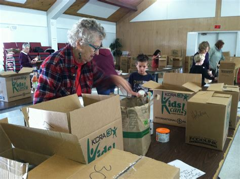 18 churches worked to support the ssip food closet