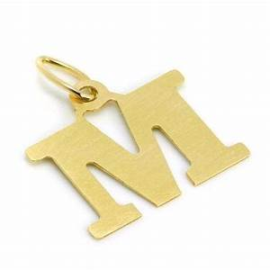 lightweight 9ct gold initial letter m charm jewellerybox With gold letter m charm