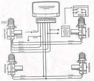 Camry Central Locking Wiring Diagram