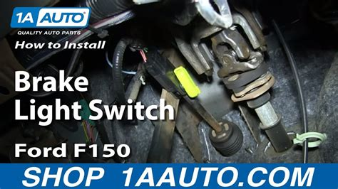 install replace brake light switch   ford