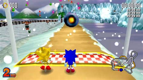 Sonic Vs Super Sonic (resort Island, Hard)