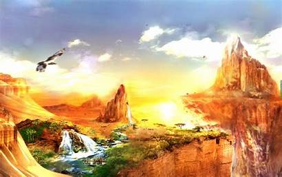 Landscape Wallpapers Fantasy Cave