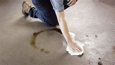 how to clean grease floor how to remove stains from concrete garage floors