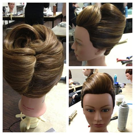 Classic Twist Updo Hairstyle by Classic Roll Updo Frenchroll Updo Hairstyles In