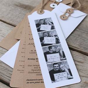 photo booth wedding invitations x 25 With wedding invitations with photograph
