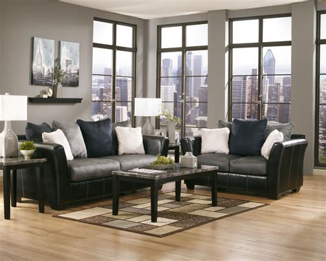 Replicated blackened wood finish with gray textural grain. Maysville Faux Marble Top Occasional Table Set Ashley ...