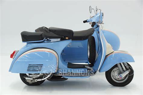 sold vespa cc motorscooter  sidecar auctions lot