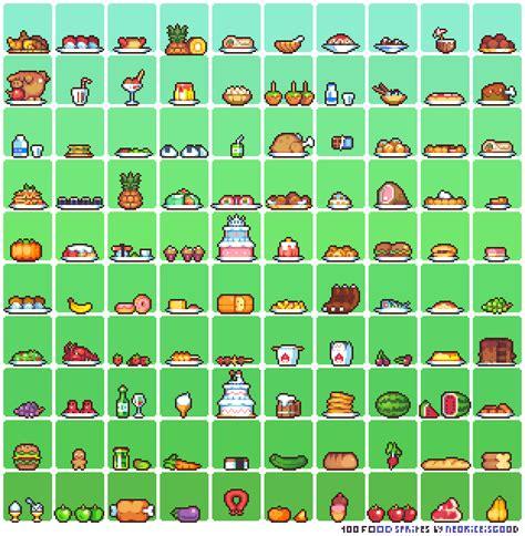 kawaii chair hg 1310 100 food sprites by neoriceisgood on deviantart