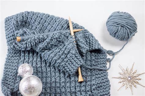 Kuschelige Decke Selber Stricken Diy Set Weareknitters
