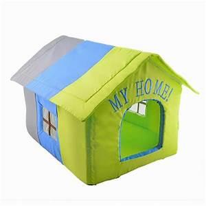 Niche D Intérieur Pour Chien : niche my home maison pour chien et chat wanimo ~ Dallasstarsshop.com Idées de Décoration