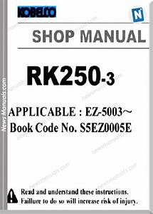 Kobelco Crane Rk250