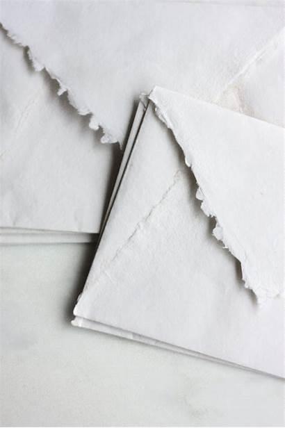 Paper Handmade Edge Deckle Idyll Ohsobeautifulpaper Stationery