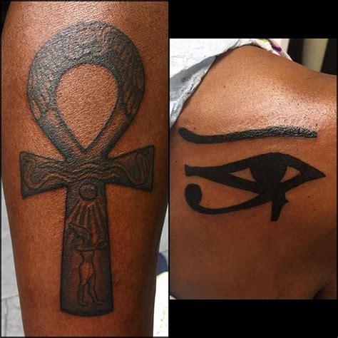 George Cross Tattoos couples egyptian tattoos  ankh  udjat eye  horus 640 x 640 · jpeg