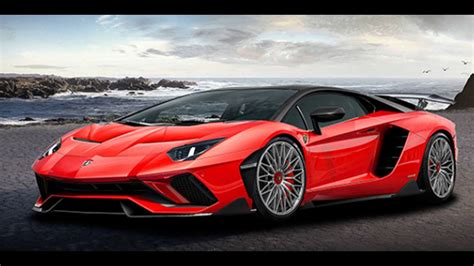 In 2018 Lamborghini New Aventador Roadster Supercar Youtube
