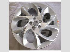 Alloy Wheel 75 x 17 MG6 Brown and Gammons