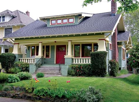 A Craftsman Neighborhood In Portland, Oregon  Old House