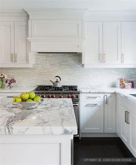 Modern White Marble Glass Kitchen Backsplash Tile