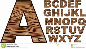 Wooden Font Stock Photos - Image: 27220723