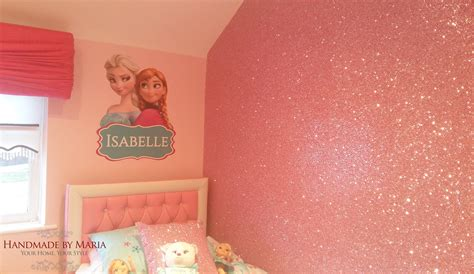 chambre a coucher occasion glitter wallpaper handmade by