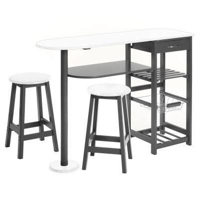 table de cuisine avec tabouret table d 39 appoint cuisine 2 tabourets achat vente table de cuisine table d 39 appoint cuisine