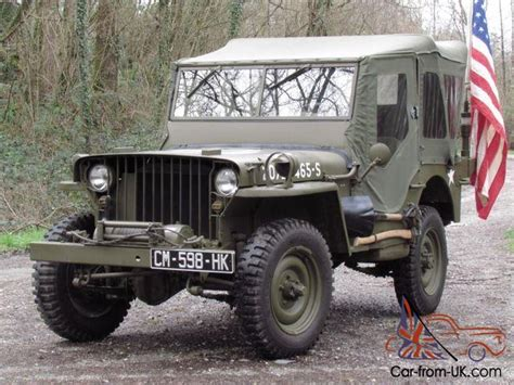 wwii jeep willys 1942 willys mb jeep 12v us wwii ford gpw stunning