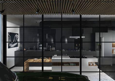 een zwarte keuken stoer mannelijk en bijzonder stijlvol