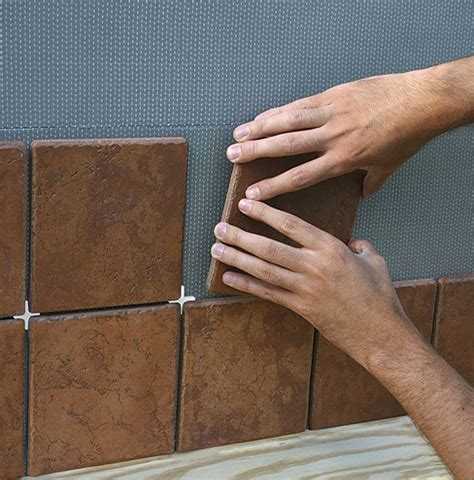 adhesive mat for tile