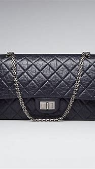 Chanel Navy Blue 2.55 Reissue Quilted Classic Calfskin ...