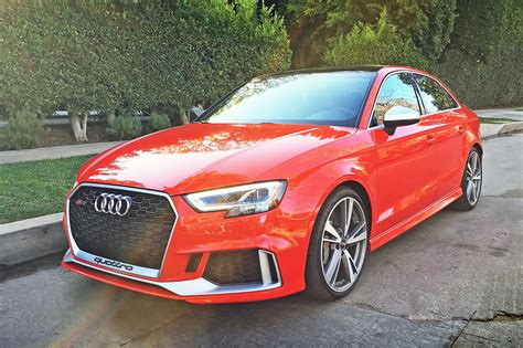 Audi Rs Four 2017 audi rs 3 one week review automobile magazine