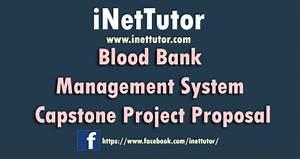 Blood Bank Management System Capstone Project Proposal