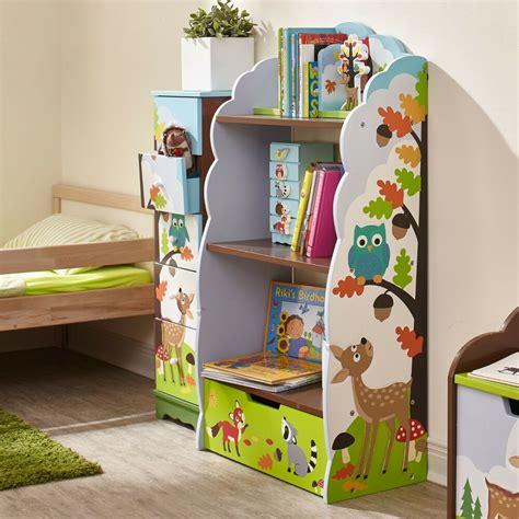 Childrens Bookcase by Fields By Teamson Enchanted Woodland Bookshelf Ebay