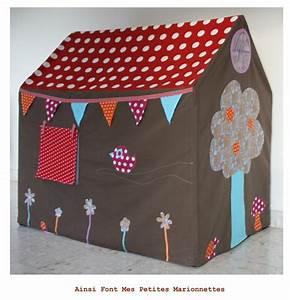 Cabane Enfant Tissu : la cabane et le reste ainsi font mes petites marionnettes ~ Teatrodelosmanantiales.com Idées de Décoration