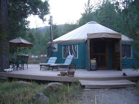 Creekside Yurt Retreat At Mount Shasta