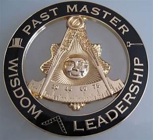 Masonic Past Master car Auto Emblem:.   eBay