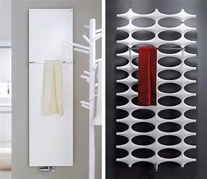 Petit Radiateur Electrique Mural : seche serviette design salle de bain ~ Melissatoandfro.com Idées de Décoration