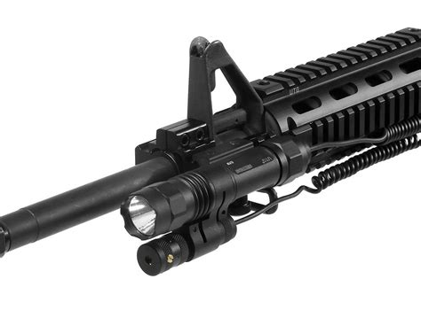 ar15 tactical light utg 2 in 1 tactical led flashlight with laser review