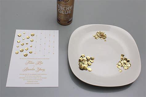 diy bling wedding invitations my wedding help