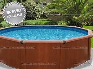 Piscine Hors Sol Acier Imitation Bois : piscine acier imitation bois avis ~ Dailycaller-alerts.com Idées de Décoration