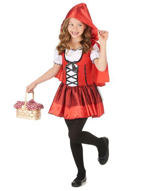 Disfraz de caperucita roja con capa niña: Disfraces niños