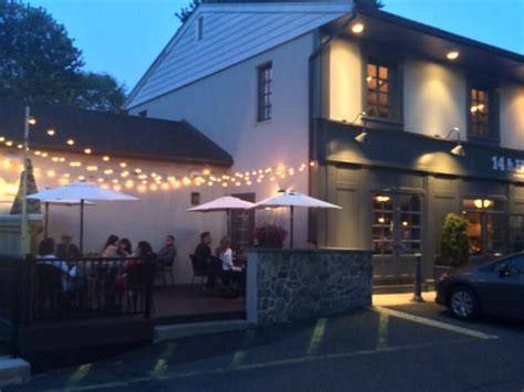 outdoor restaurant patio string lights globe lights 14