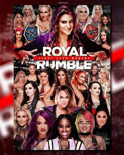 Wwe Rumble Royal Divas Superstars Woman Wrestling
