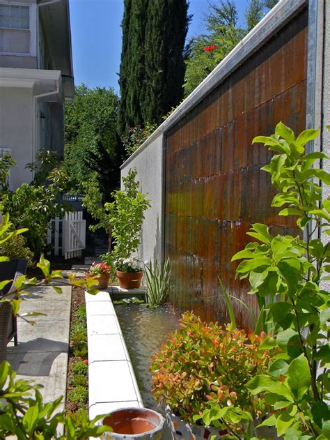 water features for walls outdoor 38 amazing outdoor water walls for your backyard digsdigs