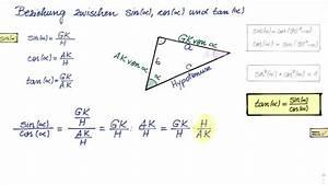 Sinus Cosinus Berechnen : beziehung zwischen sinus kosinus und tangens youtube ~ Themetempest.com Abrechnung