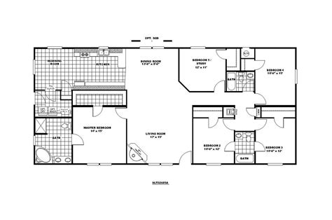 bedroom modular home floor plans cottage house plans