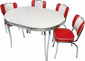 Retro dining sets retro diner tables and chairs diner for Diner style kitchen tables