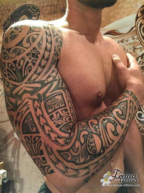 Tatouage Tahitien Avant Bras