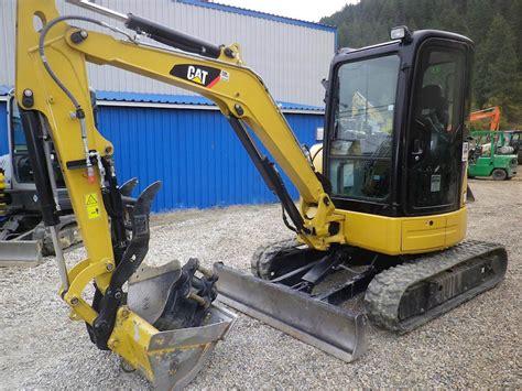 caterpillar  cr mini excavator  sale  hours chase bc