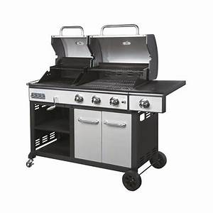 Barbecue Gaz Et Charbon : barbecue combi charbon de bois et gaz ~ Dailycaller-alerts.com Idées de Décoration
