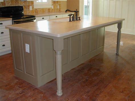 kitchen island with legs legs on island kitchen