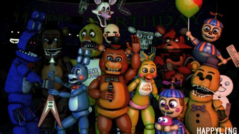 Five Nights At Freddy S Animated Wallpaper - five nights at freddy s im 225 genes sfm fnaf five nights at